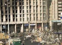 Ansicht der Unabhängigkeit Majdan Stockbilder