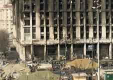 Ansicht der Unabhängigkeit Majdan Stockfotos