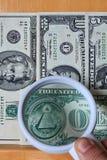 Ansicht der US-Dollar Lizenzfreie Stockbilder