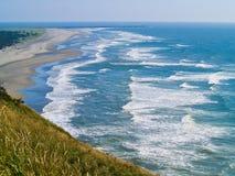 Ansicht der Washington-Küste Stockbilder