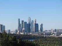 Ansicht der Wolkenkratzer stockbild