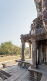 Ansicht der zweiten Wand, Angkor Wat, Siem Riep, Kambodscha Lizenzfreies Stockfoto