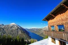Ansicht des Achensee Sees in Tirol, Österreich Stockbilder