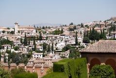 Ansicht des Albaicin Lizenzfreies Stockbild