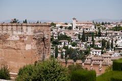 Ansicht des Albaicin Lizenzfreie Stockfotografie