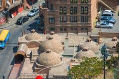 Ansicht des alten Tifliss Stockfotografie