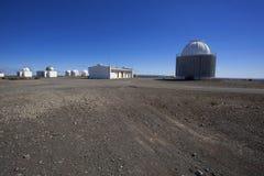 Ansicht des astronomischen Observatoriums lizenzfreie stockfotografie