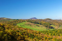 Ansicht des Büffel-Berges Lizenzfreie Stockbilder