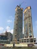 Ansicht des Baus in Bangkok Stockbild