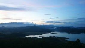 Ansicht des Berges Lizenzfreies Stockfoto