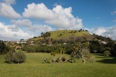 Ansicht des Bergs Victoria in Devonport Stockfoto