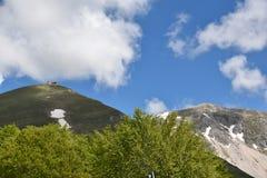 Ansicht des bestimmten Berges Lizenzfreie Stockbilder