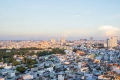 Ansicht des Bezirkes 5 in Ho Chi Minh-Stadt, Vietnam lizenzfreie stockfotos