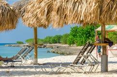 Ansicht des Bildes genommen von Adler Strand, Aruba Lizenzfreies Stockfoto