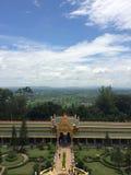 Ansicht des blauen Himmels Stockbilder