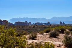 Ansicht des Bogen-Nationalparks stockfotos