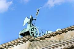 Ansicht des Brandenburger Tors von hinten Lizenzfreie Stockfotografie