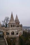 Ansicht des Budapest-Schlossturms lizenzfreie stockbilder