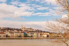 Ansicht des Budapests, Ungarn Stockfotos