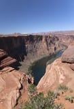 Ansicht des Colorados in Glen Canyon National Park Lizenzfreie Stockbilder