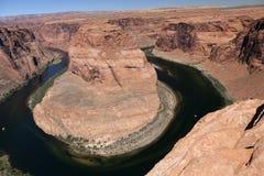 Ansicht des Colorados in Glen Canyon National Park, Utah, U Stockbilder