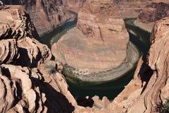 Ansicht des Colorados in Glen Canyon National Park, Utah, U Lizenzfreies Stockfoto