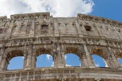Ansicht des Colosseum in Rom Lizenzfreies Stockfoto