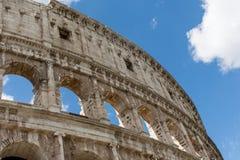 Ansicht des Colosseum in Rom Lizenzfreie Stockbilder