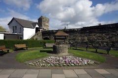 Ansicht des Conwy Schlosses Lizenzfreies Stockbild