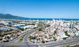 Ansicht des Da Nang-Stadtzentrums Lizenzfreie Stockbilder