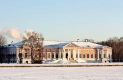 Ansicht des ducal Palastes vom großen Teich Lizenzfreies Stockbild