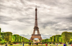 Ansicht des Eiffel Tower Lizenzfreie Stockbilder