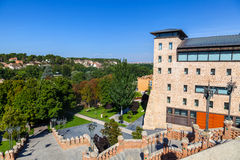 Ansicht des Escalinata in Teruel Lizenzfreies Stockbild