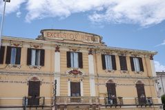 Ansicht des excelsior Hotels stockfotografie