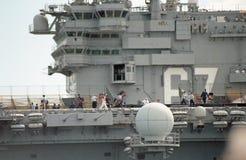 2000 Ansicht des Führerraums USSs John F kennedy lizenzfreies stockbild
