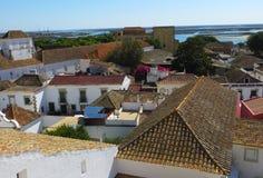 Ansicht des Faros (Faro, Portugal) lizenzfreie stockfotografie