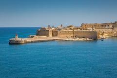 Ansicht des Forts Ricasoli Lizenzfreies Stockbild