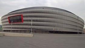 Ansicht des Fußballstadions Sans Mames in Bilbao Lizenzfreie Stockfotografie
