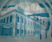 Ansicht des Gebäudes lizenzfreies stockfoto