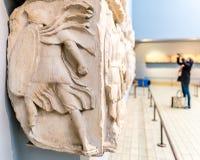 Ansicht des Geschichtsmuseums Stockfotos