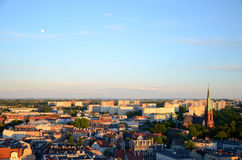 Ansicht des Gliwices in Polen stockfotos