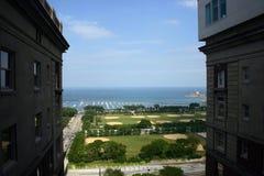 Ansicht des Grant-Parks von oben Stockfotos