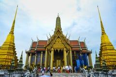 Ansicht des gro?artigen Palastes ist ein Komplex von Geb?uden im Herzen Bangkoks, Thailand stockbild