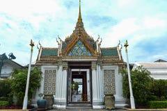Ansicht des gro?artigen Palastes ist ein Komplex von Geb?uden im Herzen Bangkoks, Thailand lizenzfreie stockfotografie