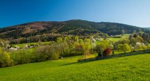 Ansicht des Hügels Lizenzfreies Stockbild
