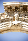 Ansicht des Hadrian-` s Tempels, alte Stadt Ephesus Stockfotos