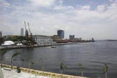 Ansicht des Hafengebiets der Stadt von Rio de Janeiro Stockfotos