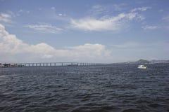 Ansicht des Hafengebiets der Stadt von Rio de Janeiro Lizenzfreies Stockbild