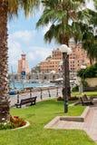 Ansicht des Hafens von Rio Marina Lizenzfreie Stockfotos