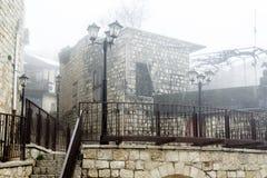 Ansicht des Hauses in altem Safed lizenzfreie stockfotografie